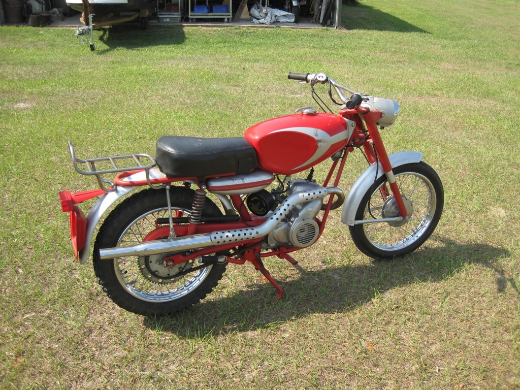 1965 Ducati  MOUNTAINEER 90cc, motorcycle listing