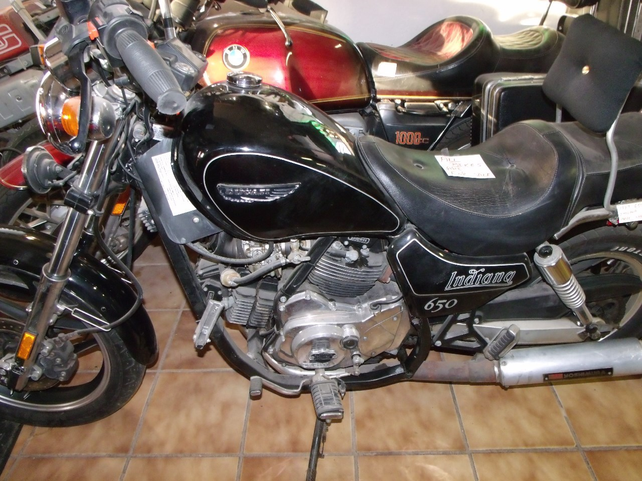 1987 Ducati Indiana , motorcycle listing