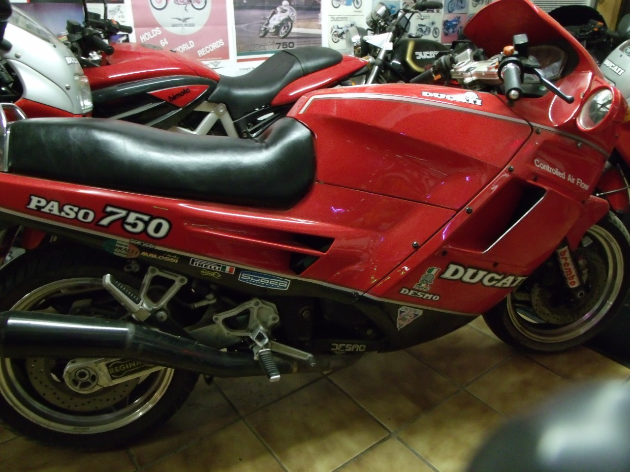 1987 Ducati Paso 750, motorcycle listing