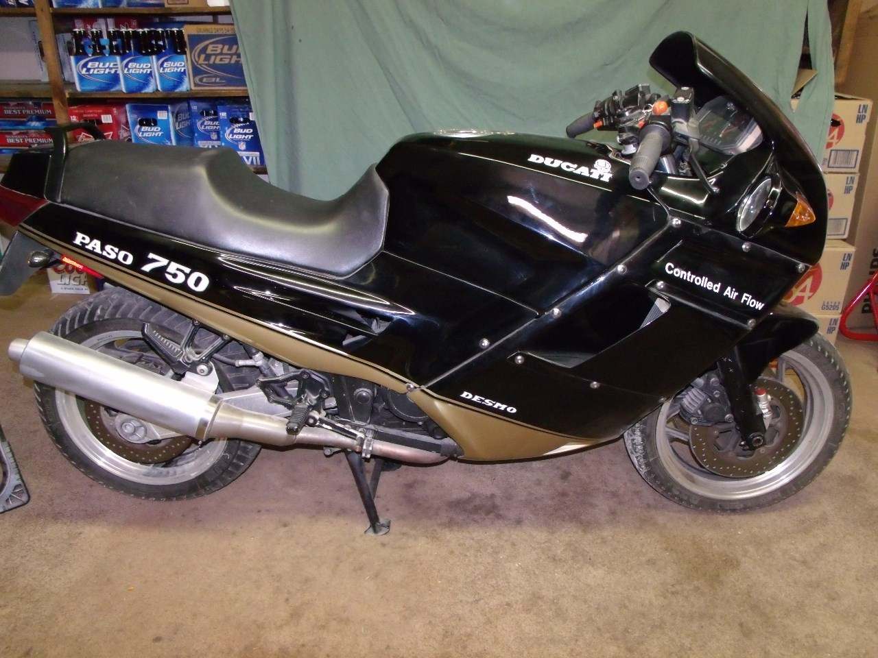1988 Ducati Paso 750, motorcycle listing