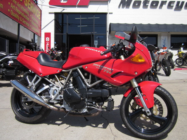 1993 Ducati 750 SS SuperSport, motorcycle listing