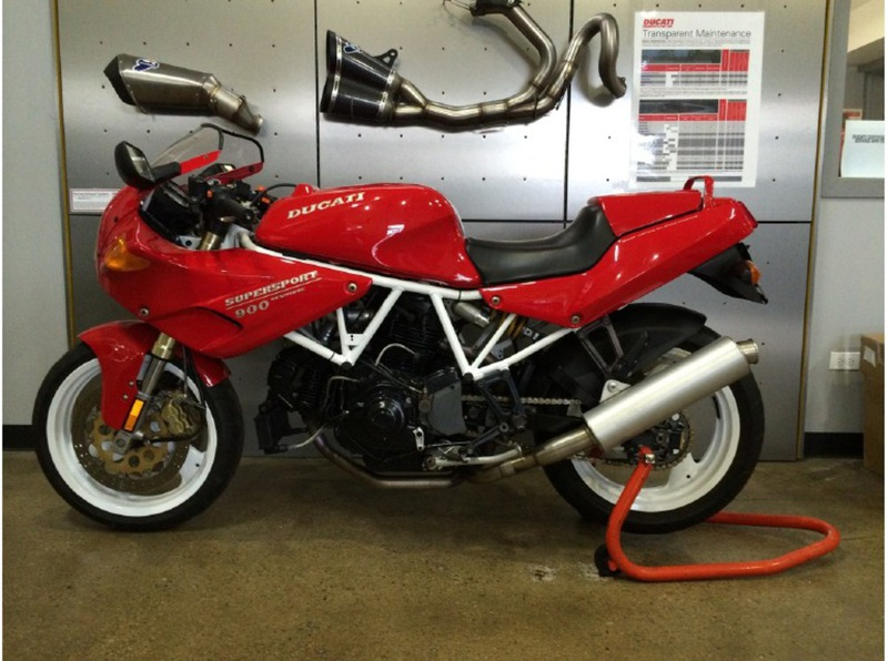 1995 Ducati 900 SS/CR, motorcycle listing
