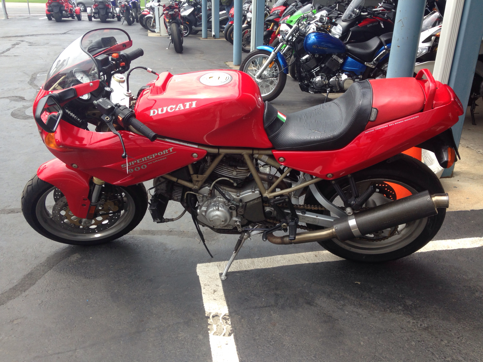1996 Ducati 900SS, motorcycle listing