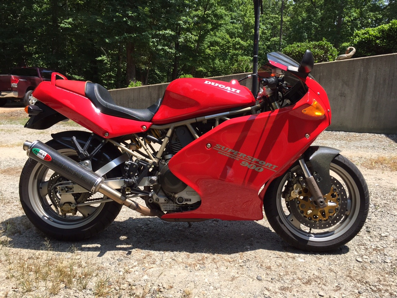 1996 Ducati Super Sport 900, motorcycle listing