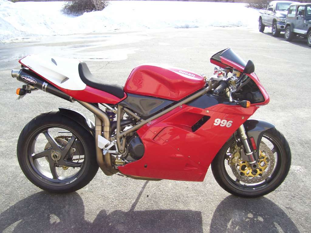 1999 Ducati 996S, motorcycle listing