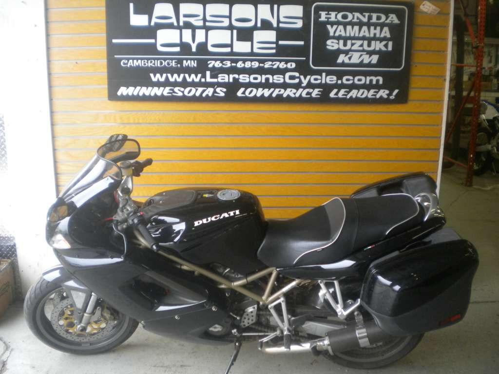 1999 Ducati ST4, motorcycle listing
