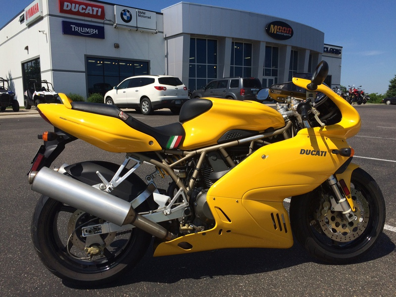 1999 Ducati SUPERSPORT 900, motorcycle listing