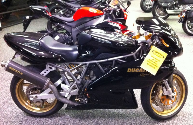2000 Ducati 900 Super Sport, motorcycle listing