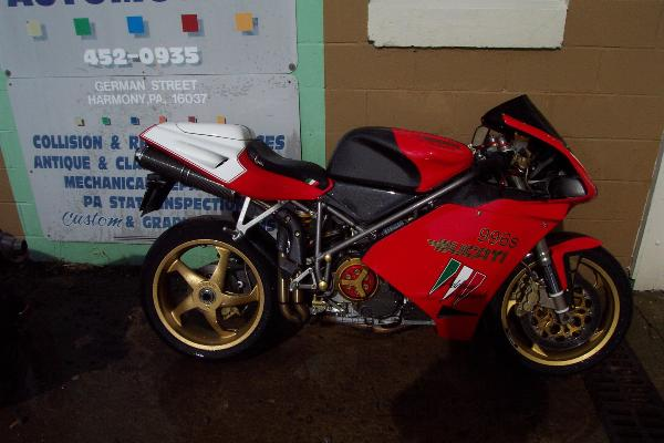 2000 Ducati 996 996s  996 s Special, motorcycle listing