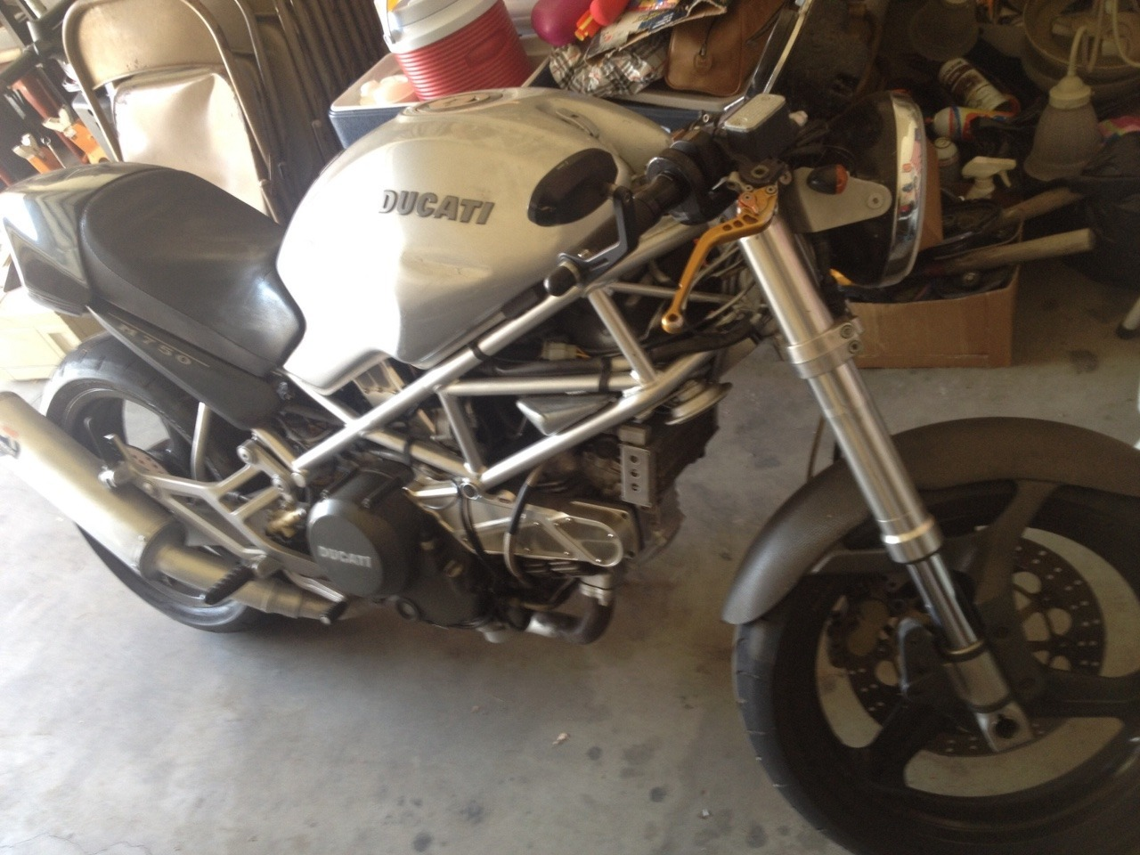 2000 Ducati Monster 750, motorcycle listing