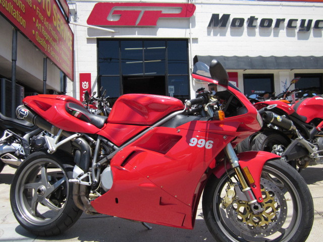 2001 Ducati 996 Bi Posto - See ALL the Ducati's at GP!, motorcycle listing