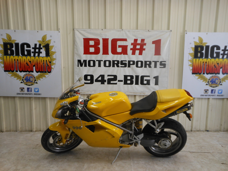 2001 Ducati 996 S, motorcycle listing