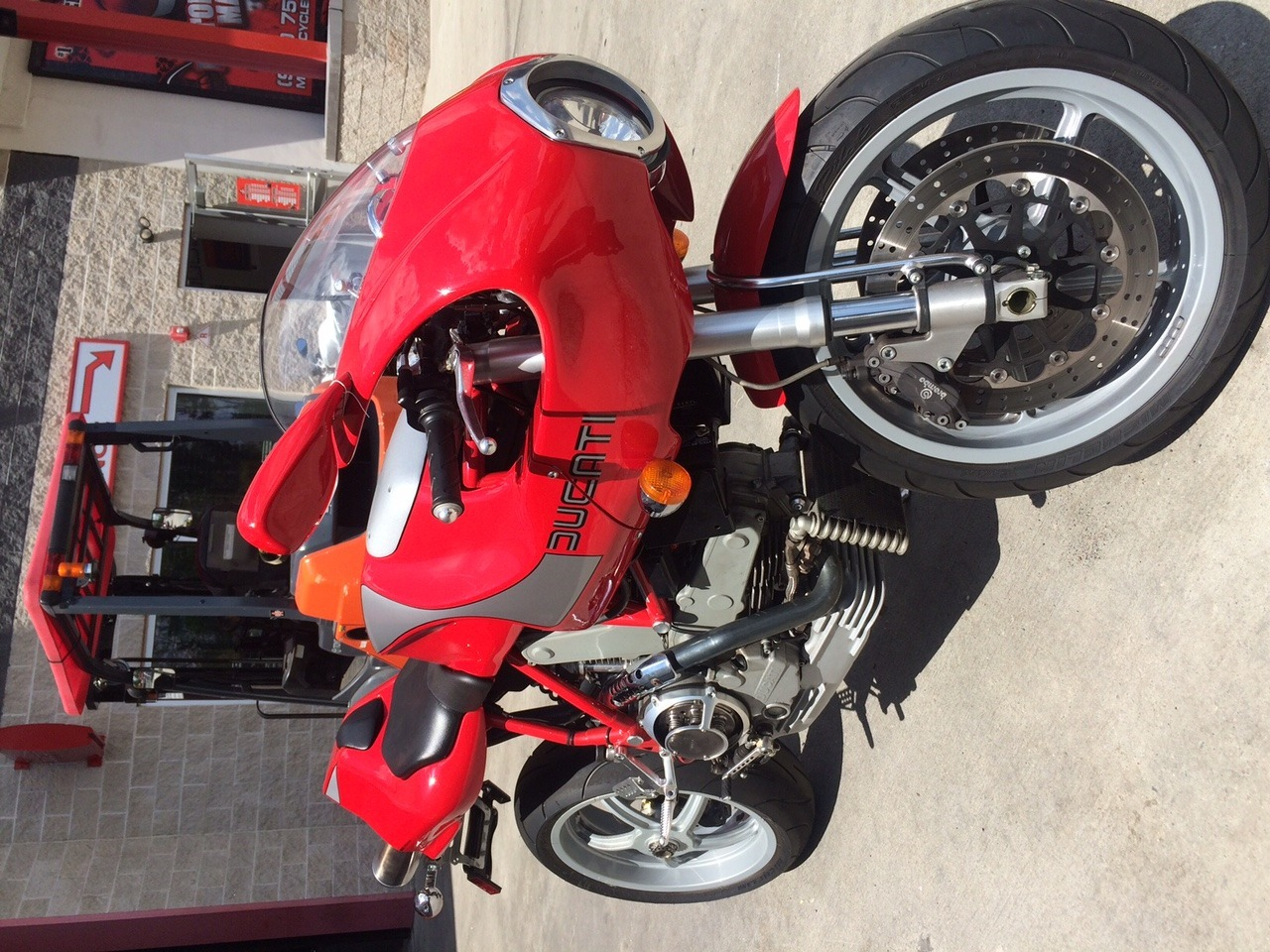 2001 Ducati Mh900 , motorcycle listing