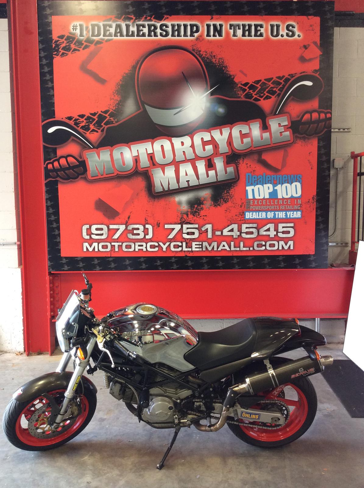 2001 Ducati Monster 900 IE Cromo Edition, motorcycle listing