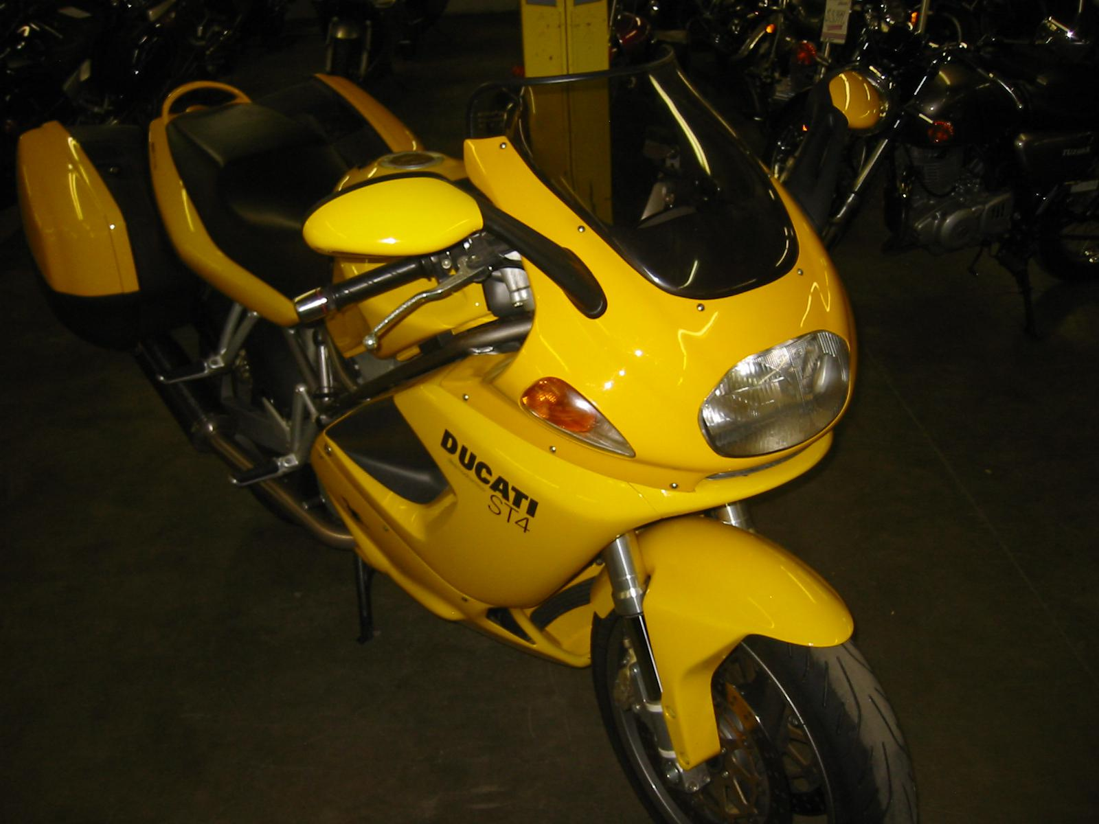 2001 Ducati ST 4, motorcycle listing