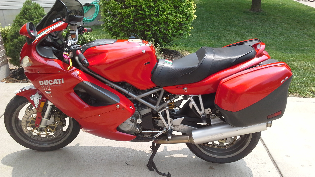 2001 Ducati St 2, motorcycle listing