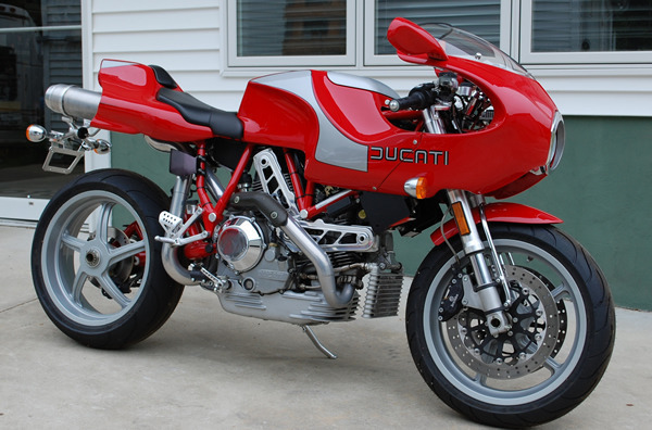 2002 Ducati MH900e, motorcycle listing