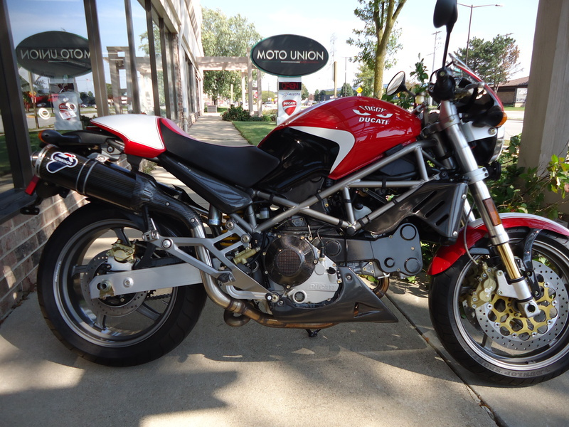 2002 Ducati Monster S4 Foggy, motorcycle listing
