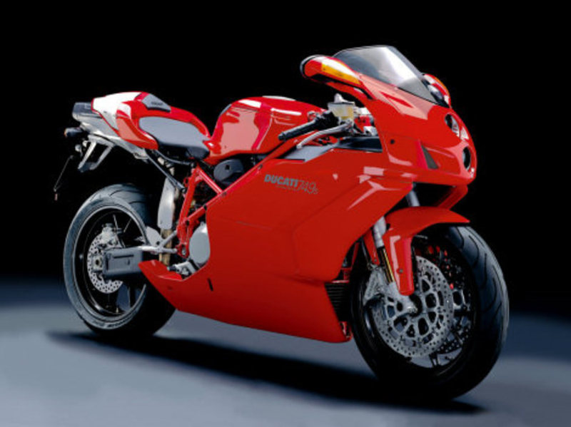 2003 Ducati 749 S, motorcycle listing