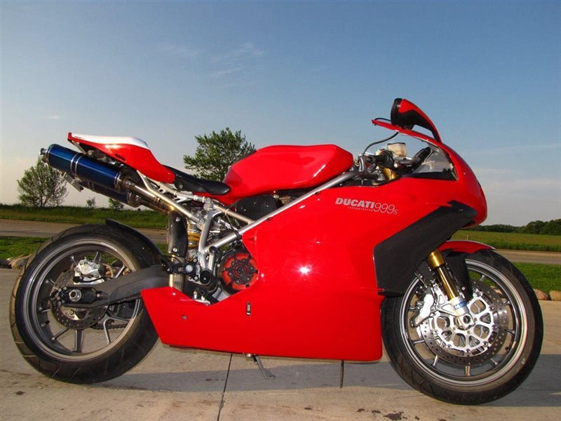 2003 Ducati 999 S, motorcycle listing