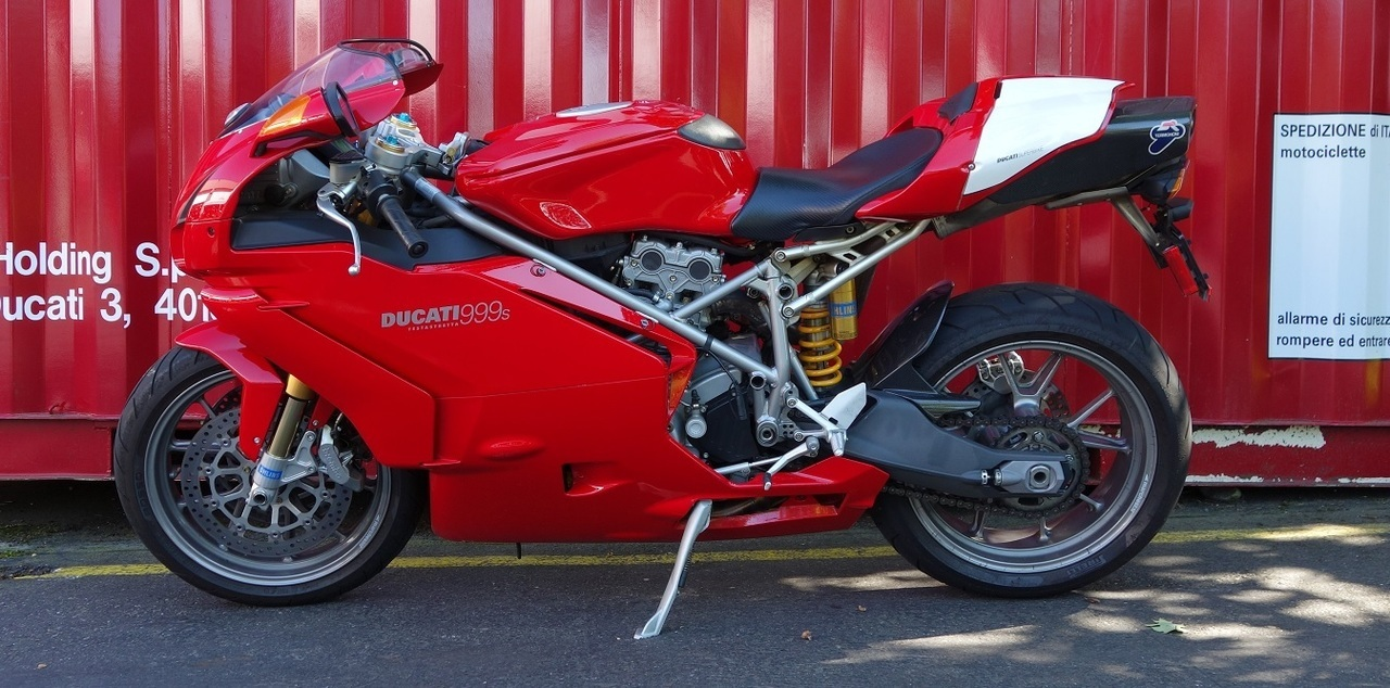 2003 Ducati 999S, motorcycle listing