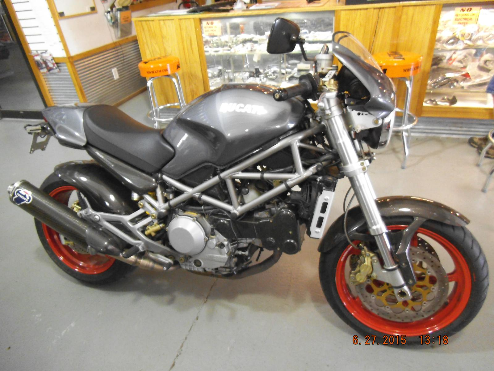 2003 Ducati Monster S4, motorcycle listing
