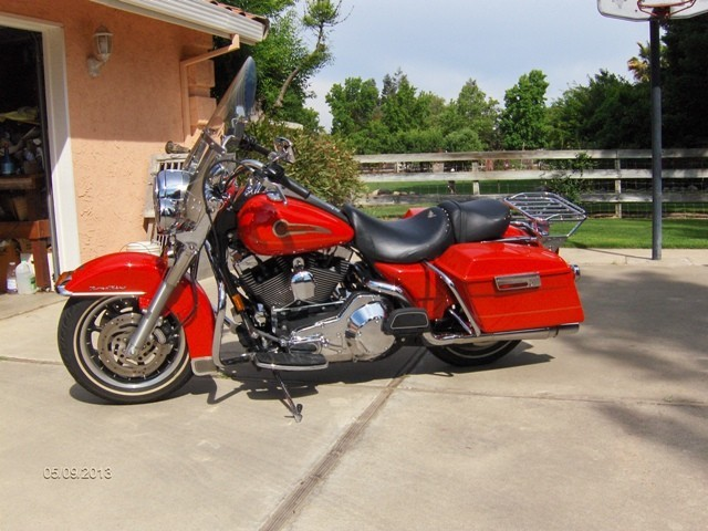 2003 Harley-Davidson Road King, motorcycle listing