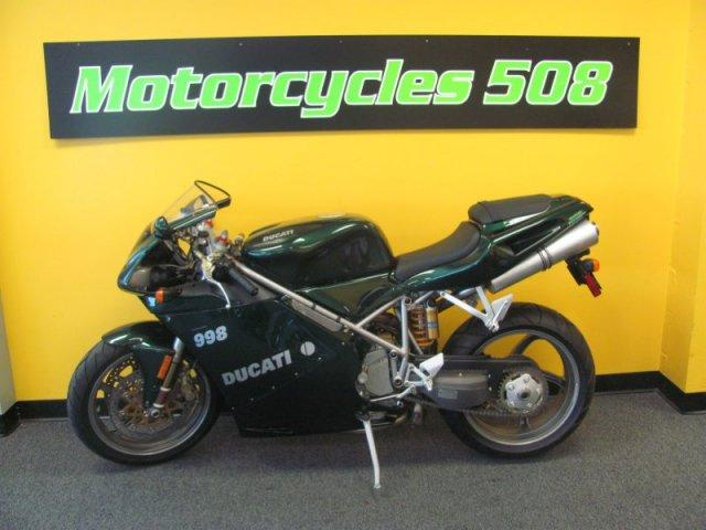2004 Ducati 998 Matrix Reloaded Edition, motorcycle listing