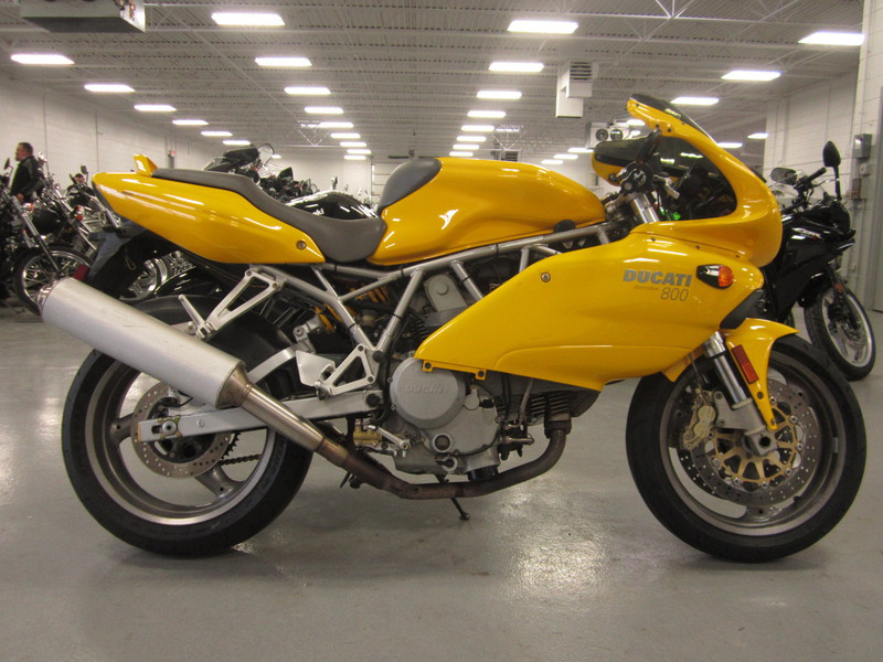 2004 Ducati Supersport 800, motorcycle listing