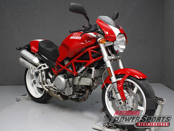 2005 Ducati MONSTER S2R 800, motorcycle listing