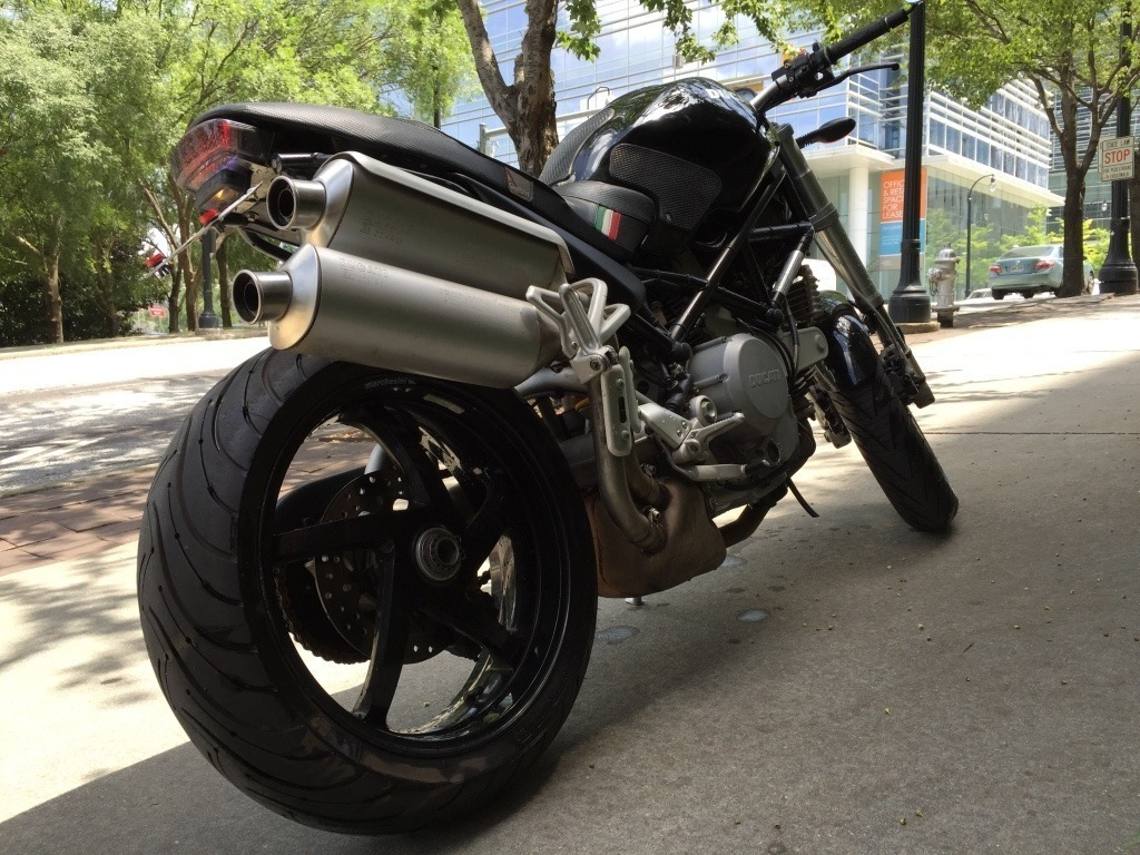 2005 Ducati Monster S2R, motorcycle listing