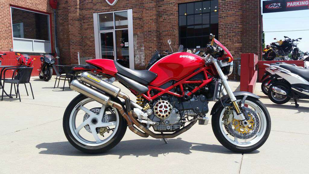 2005 Ducati Monster S4R, motorcycle listing