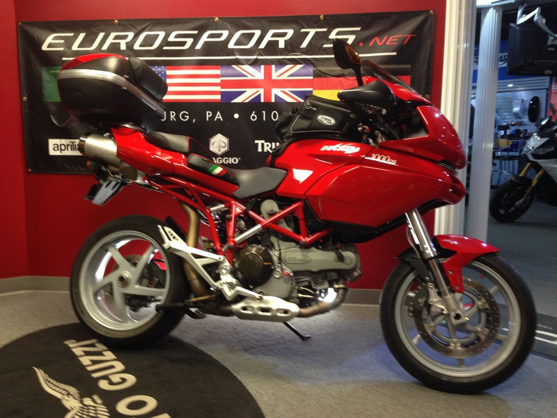 2005 Ducati Multistrada 1000 DS, motorcycle listing