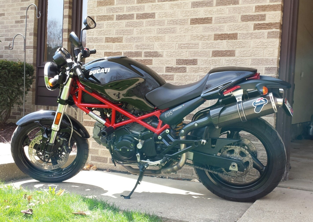 2006 Ducati Monster 695, motorcycle listing