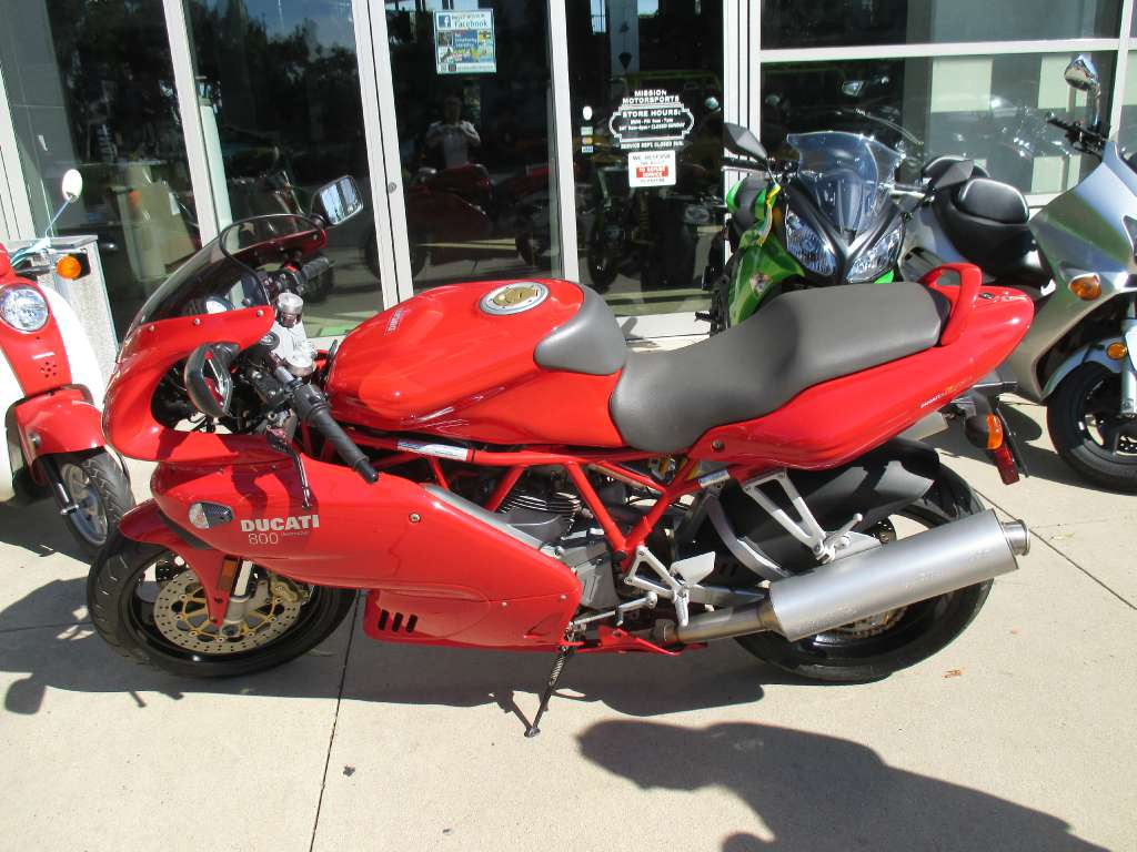 2006 Ducati Supersport 800, motorcycle listing