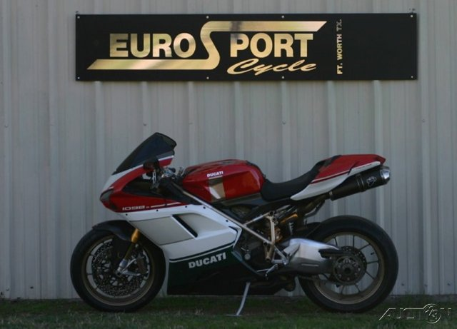 2007 Ducati 1098 S Tricolore, motorcycle listing