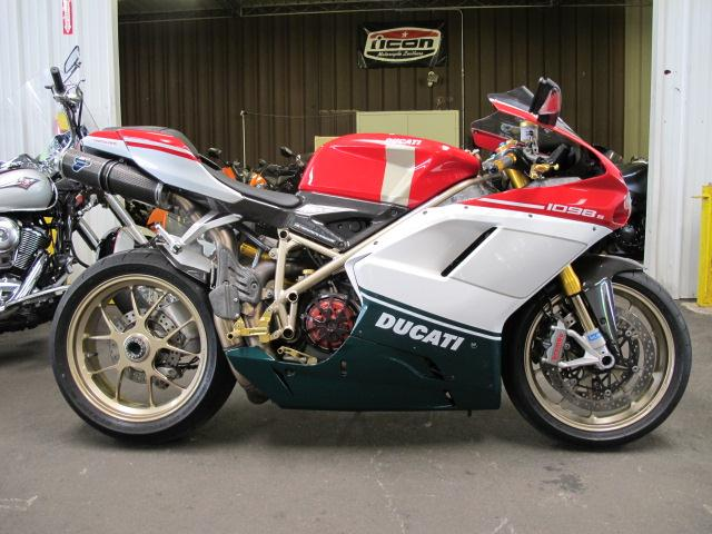 2007 Ducati 1098S TRICOLORE, motorcycle listing