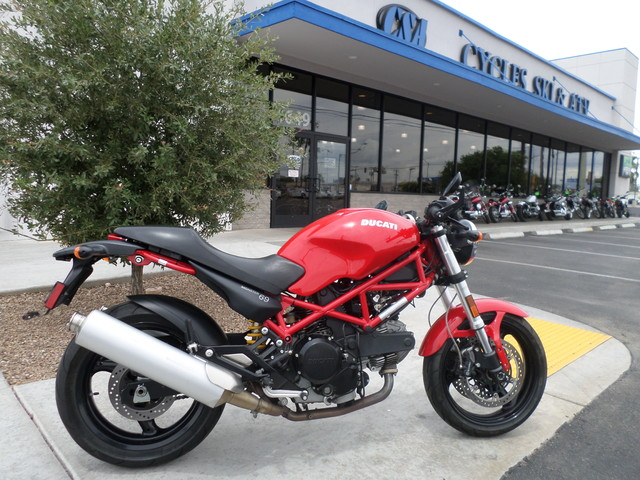 2007 Ducati 695 Monster, motorcycle listing