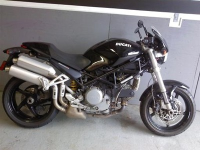 2007 Ducati MONSTERS2R, motorcycle listing