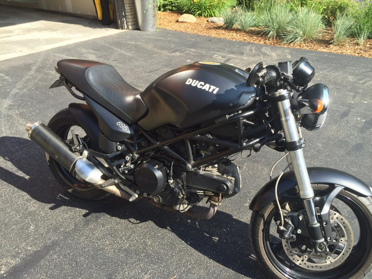 2007 Ducati Monster 695, motorcycle listing