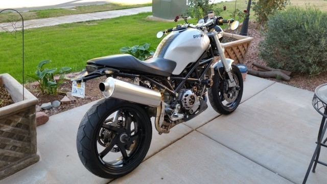 2007 Ducati Monster S2R, motorcycle listing
