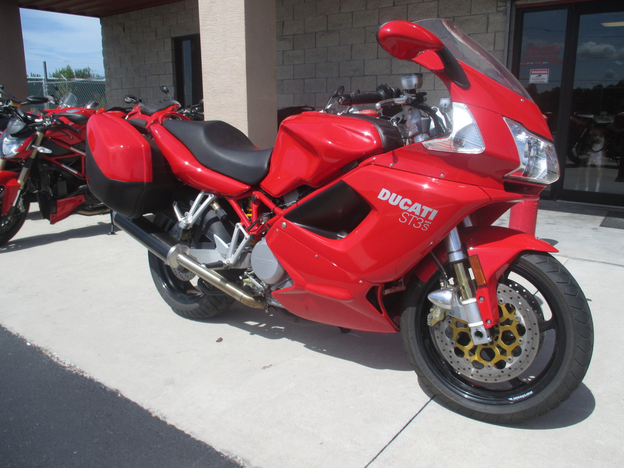 2007 Ducati ST3S, motorcycle listing
