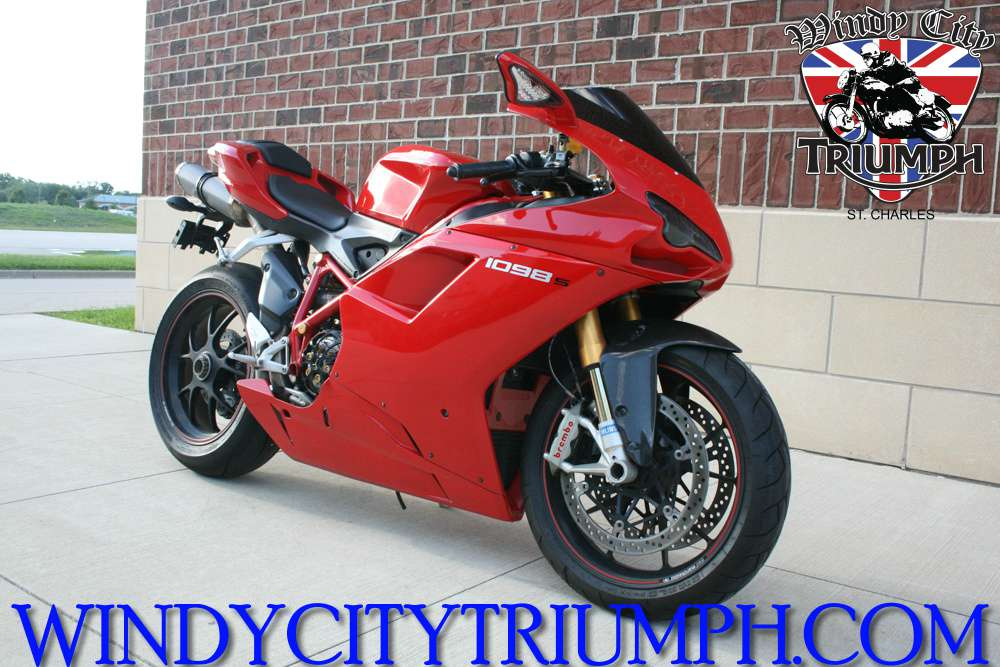 2007 Ducati Superbike 1098 S, motorcycle listing