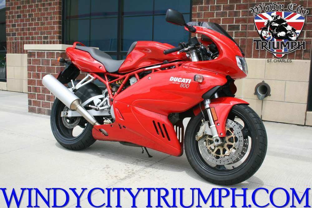 2007 Ducati Supersport 800, motorcycle listing