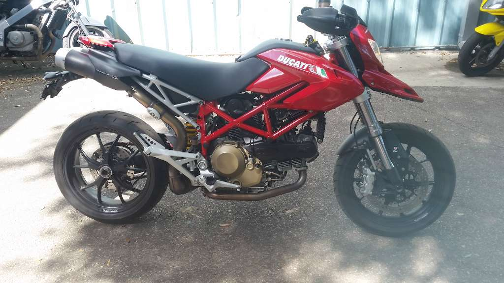 2008 Ducati Hypermotard 1100, motorcycle listing