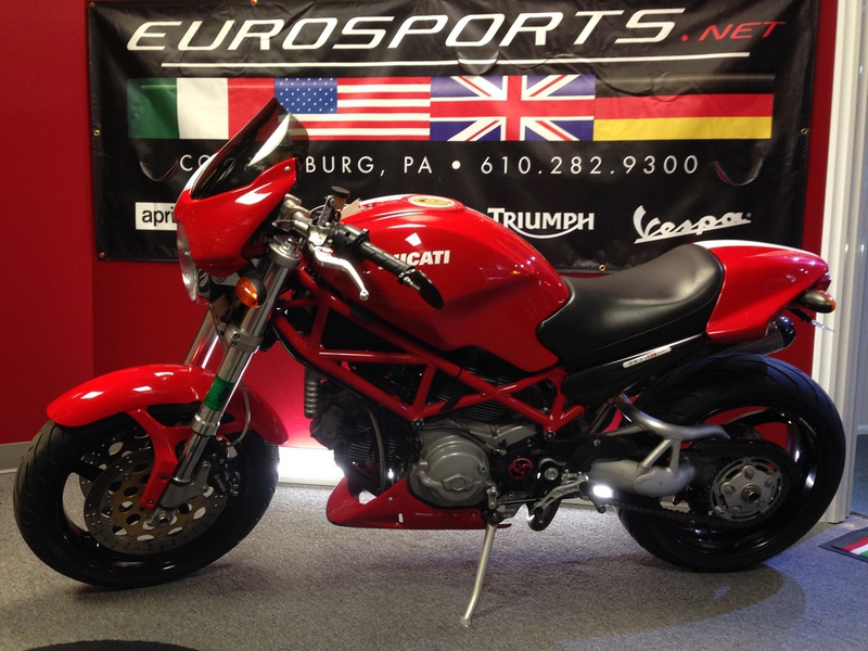 2008 Ducati Monster S2R 1000, motorcycle listing