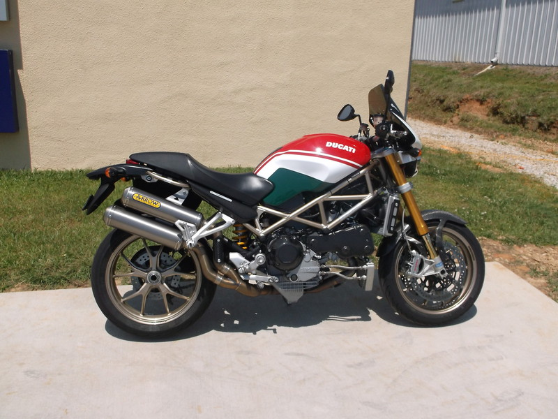 2008 Ducati Monster S4R S Tricolore, motorcycle listing