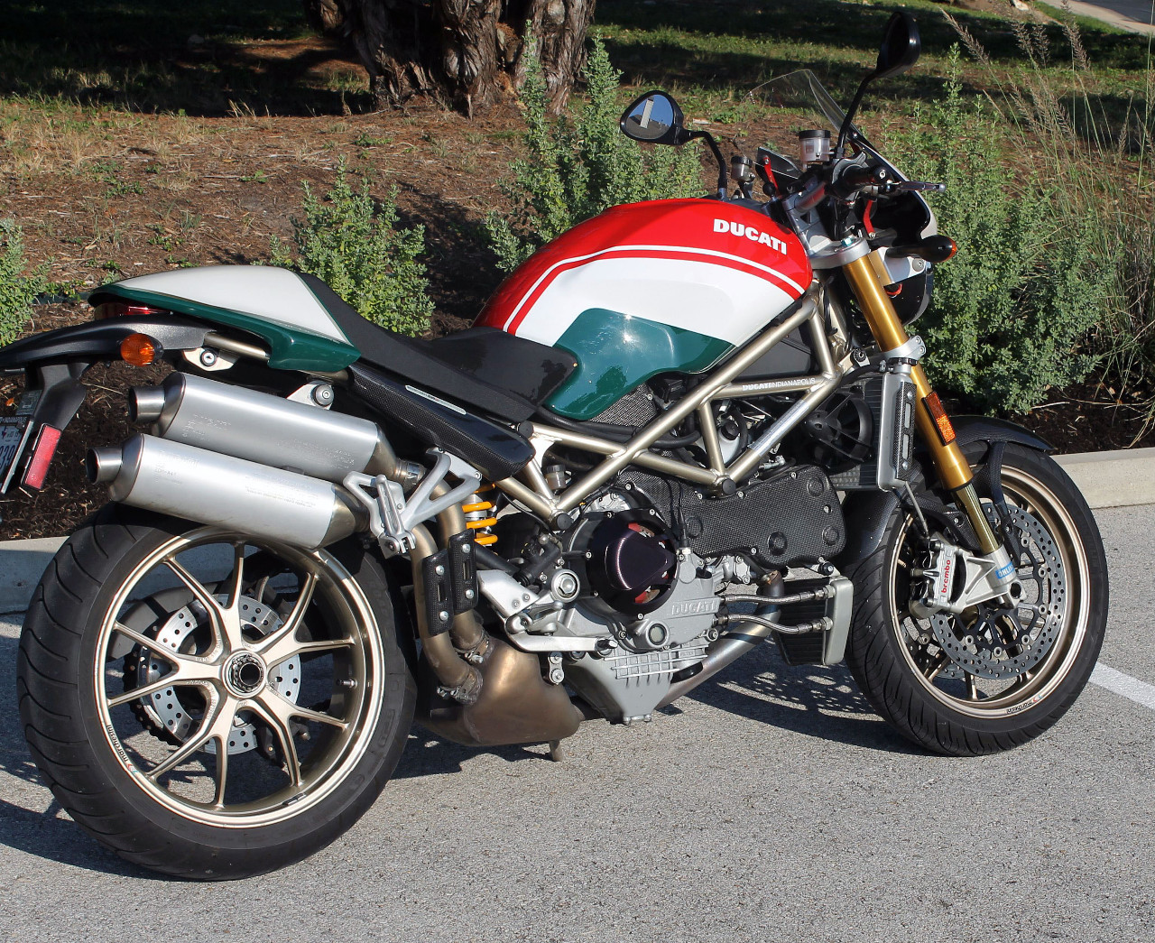 2008 Ducati Monster S4RS, motorcycle listing