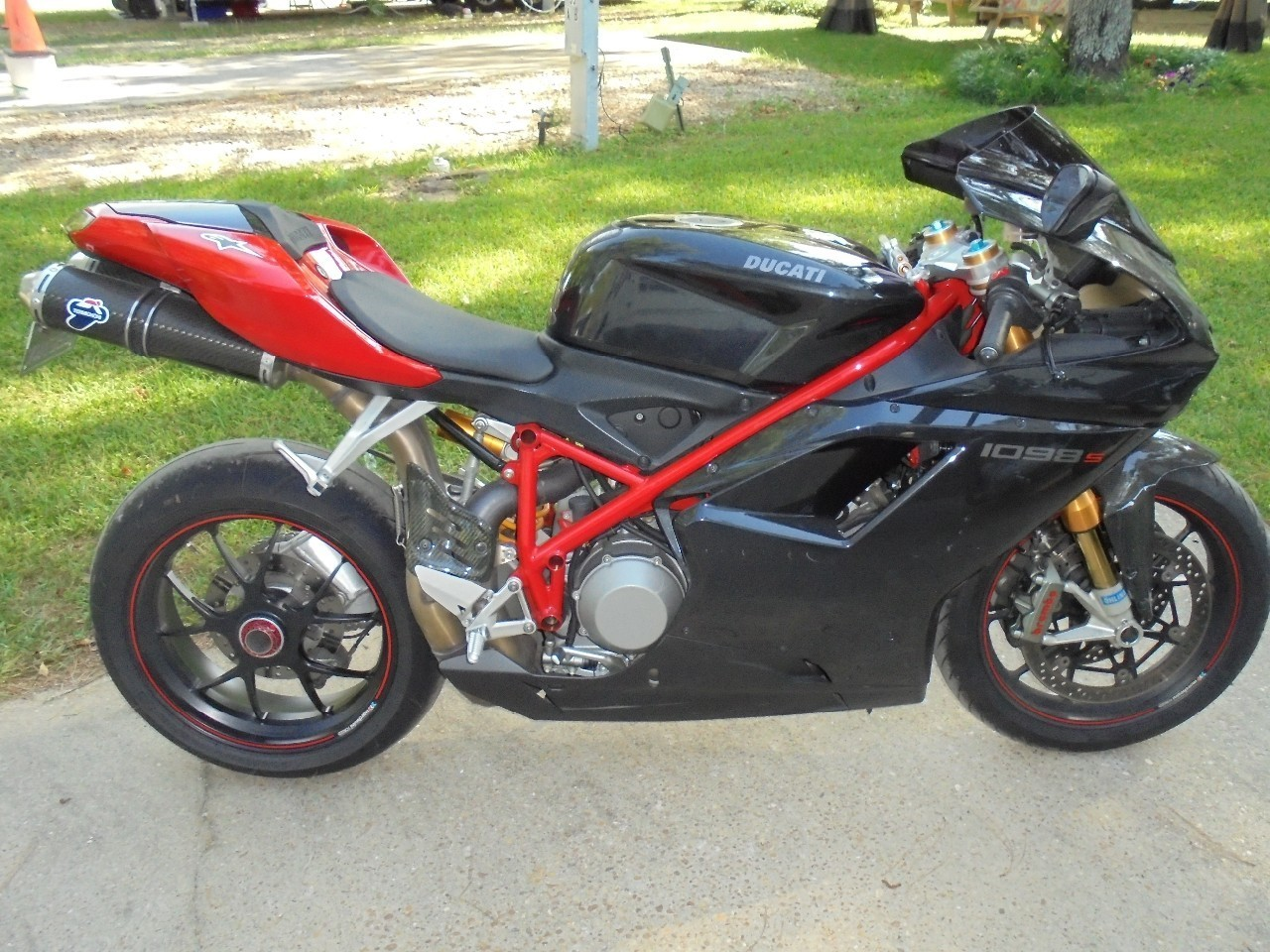 2008 Ducati Superbike 1098 S, motorcycle listing