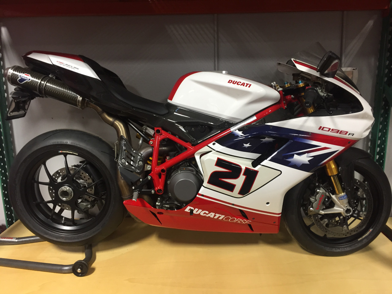 2009 Ducati 1098R Bayliss, motorcycle listing